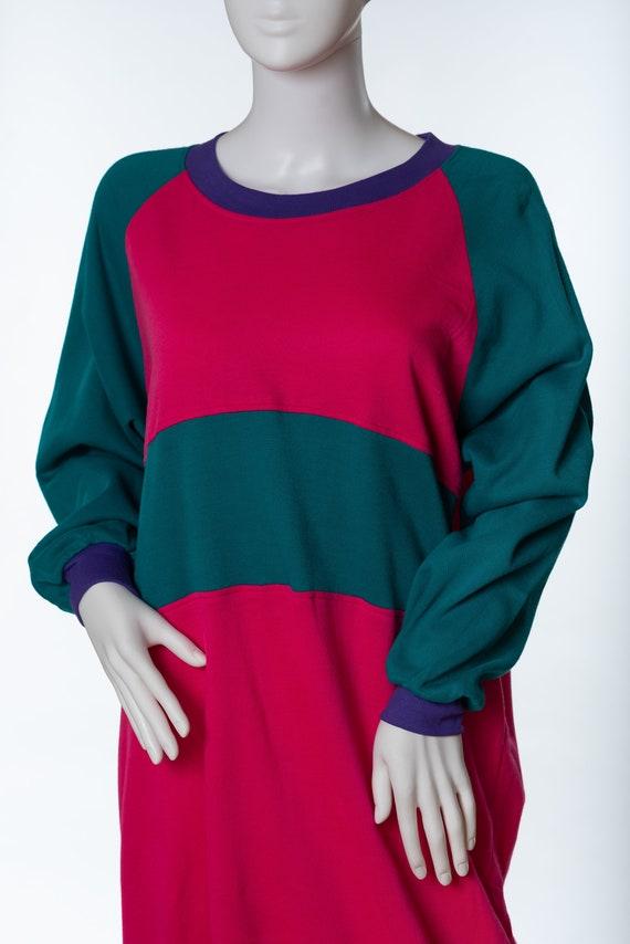 Vintage Sergio Valente Sweatshirt Dress