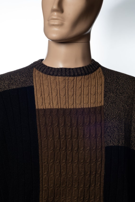 Vintage Munsingwear Patchwork Sweater