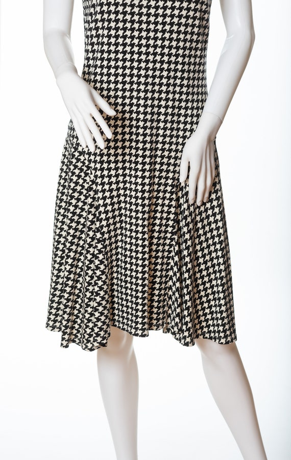 Lauren Houndstooth Dress, Ralph Lauren Sleeveless… - image 2
