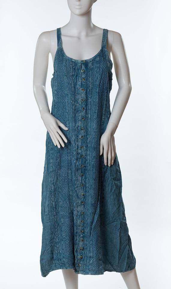 Vintage Raya Sun Denim Sun Dress