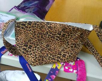 Leapard print purse