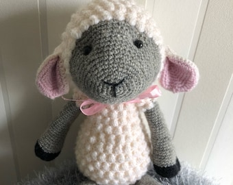 Scheep crochet animal