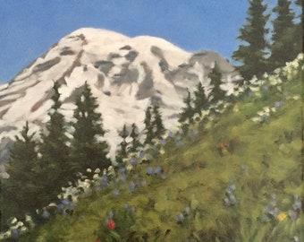 Mount Rainier from Paradise Center