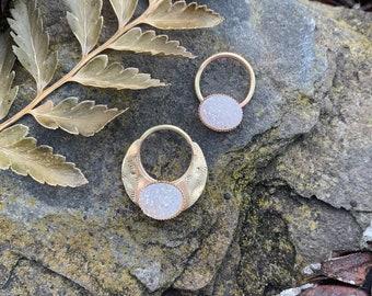 El Invierno del Gitano septum rings, The Gypsy's Winter septum rings.