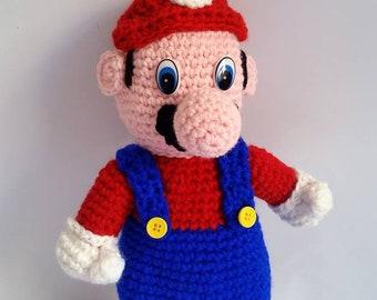 Super Mario Nintendo Amigurumi
