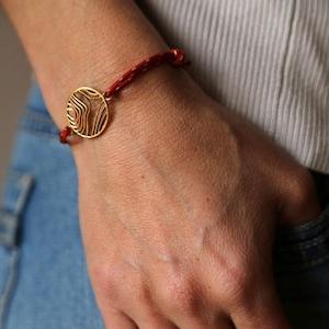 colour of choice bicycle pendant silver adjustable size Bicycle necklace unisex bracelet sliding knot