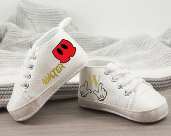 Mickey Mouse Baby Shoes Mickey Pants