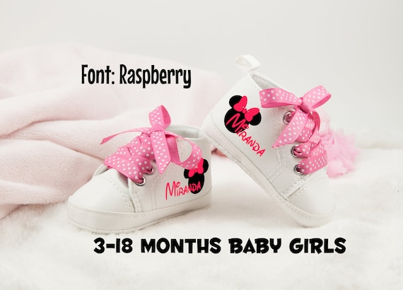Minnie Mouse Baby Girl Shoes