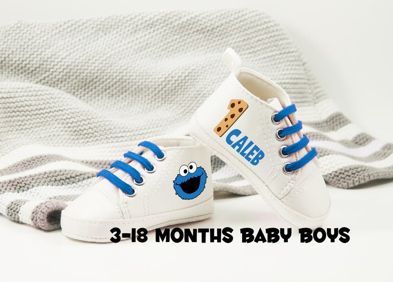 Cookie Monster Baby Shoes Baby Boy