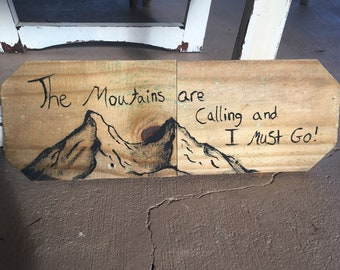 calling moutains