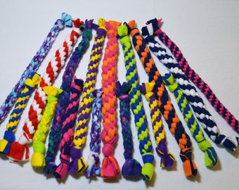 Knotted Fleece Tug Toys For Dogs By Happy Tail Dog Toys
