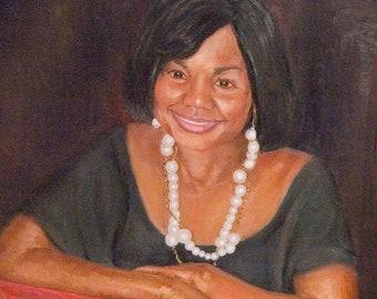 18x24 inch Custom Oil Painting (Portrait or Pet Portrait)