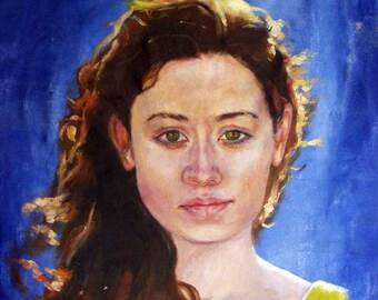 16x20 inch Custom Oil Painting (Portrait or Pet Portrait)