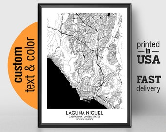 Laguna Niguel Poster Etsy