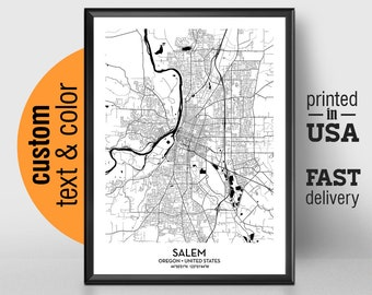 Wake forest map | Etsy