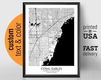 Coral Gables Florida Etsy