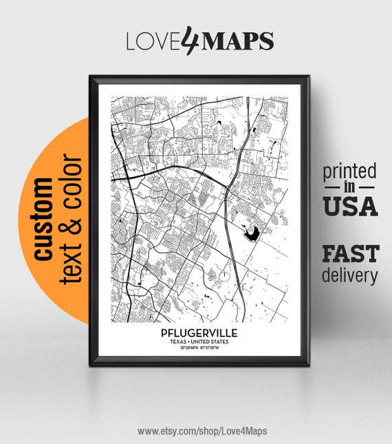 Pflugerville Texas Map, Pflugerville City Print, Pflugerville Poster, on map of grapevine texas, map of valley mills texas, map of the hill country texas, map of cleveland texas, map of balcones heights texas, map of mansfield dam texas, map of mcallen texas, map of rosenberg texas, map of waco texas, map of north austin texas, map of sachse texas, map of highland haven texas, map of weatherford texas, map of paint rock texas, map of amarillo texas, map of quemado texas, map of friendswood texas, map of northeast houston texas, map of pyote texas, map of conroe texas,