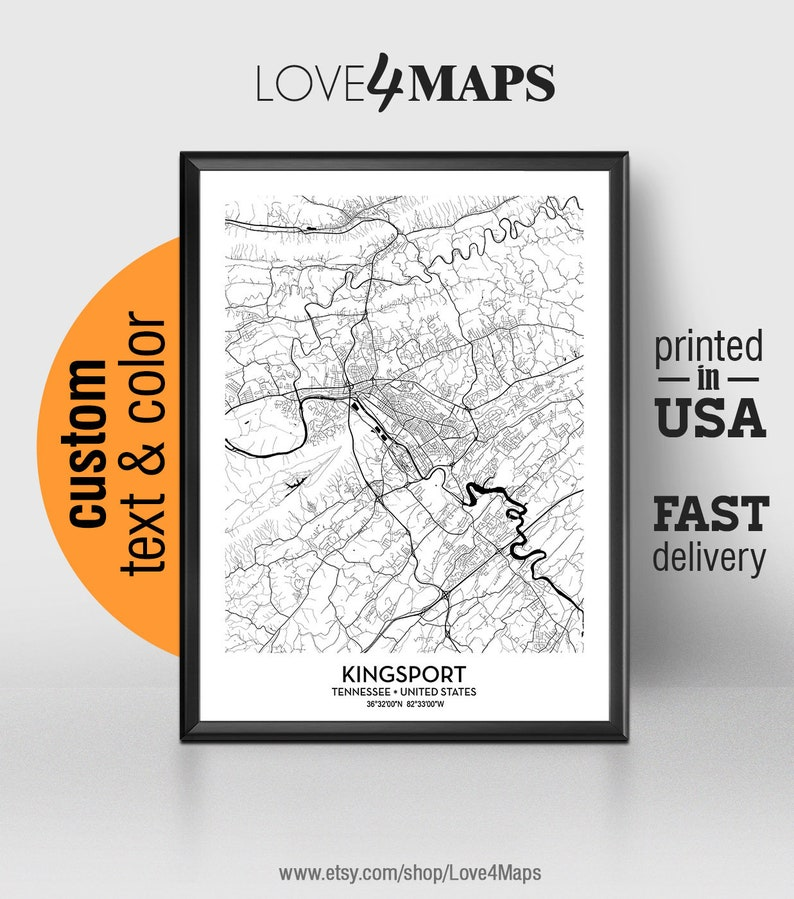 Kingsport Tennessee Map, Kingsport City Print, Kingsport Poster, Personalized on johnson city tennessee map, paducah tennessee map, blountville tennessee map, clairfield tennessee map, rocky top tennessee map, canton tennessee map, watauga lake tennessee map, marion tennessee map, holston lake tennessee map, williamsport tennessee map, gruetli laager tennessee map, la follette tennessee map, algood tennessee map, hardin valley tennessee map, spartanburg tennessee map, rogersville tennessee map, cherokee national forest tennessee map, helenwood tennessee map, dekalb county tennessee map, wears valley tennessee map,
