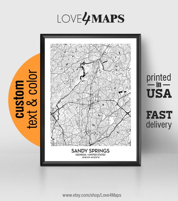 Sandy Springs Georgia Map, Sandy Springs City Print, Sandy Springs on map of midtown georgia, map of fayetteville georgia, map of barnesville georgia, map of decatur georgia, map of georgia with cities listed, map of king county georgia, map of chamblee georgia, map of louisville georgia, map of dunwoody georgia, map of druid hills georgia, map of fort oglethorpe georgia, map of piedmont georgia, map of college park georgia, map of city of atlanta georgia, map of hapeville georgia, map of henry county georgia, map of chattahoochee hills georgia, map of north fulton county georgia, map of social circle georgia, map of north carolina georgia,