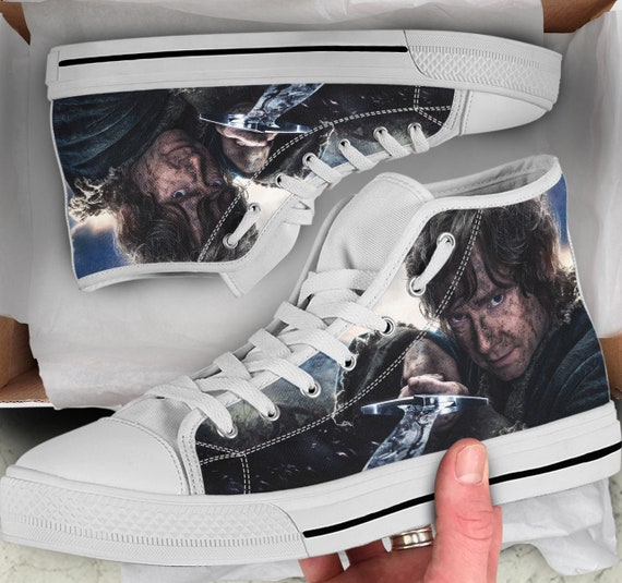 high The High Hobbit Colorful Shoes like Hobbit Converse Hobbit Shoes Women's Gift Tops Sneakers sneakers for Tops him Shoes Men's Looks z1nXwq1r0