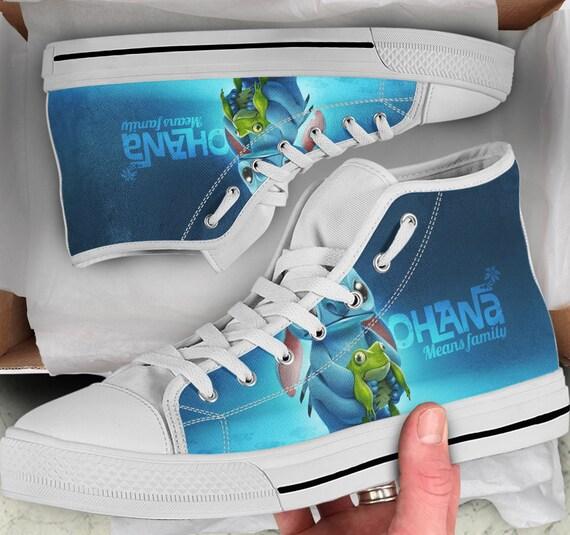 Tops Stitch et Stitch et Lilo de Anime Sneakers Lilo chaussures color baskets FvTAOAx