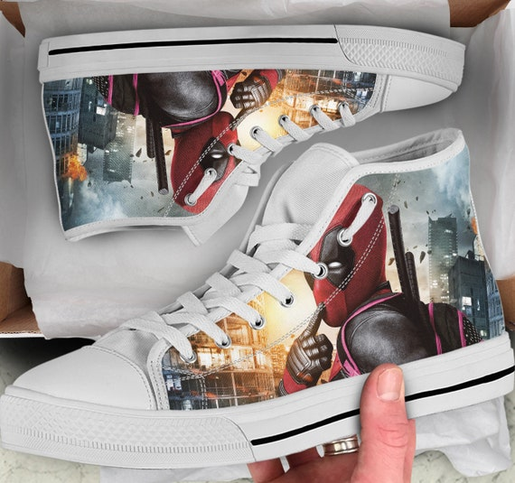 baskets 2 Deadpool chaussures baskets Deadpool Deadpool Tops color wqvHfg