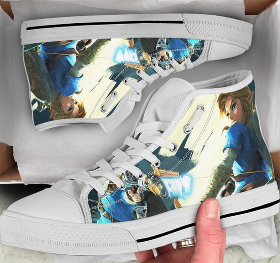 Colorful sneakers Women's Top high Breath High of Shoes Converse Looks Shoes Sneakers Zelda Tops Shoes like The wild legend the Men's of q7wAAP