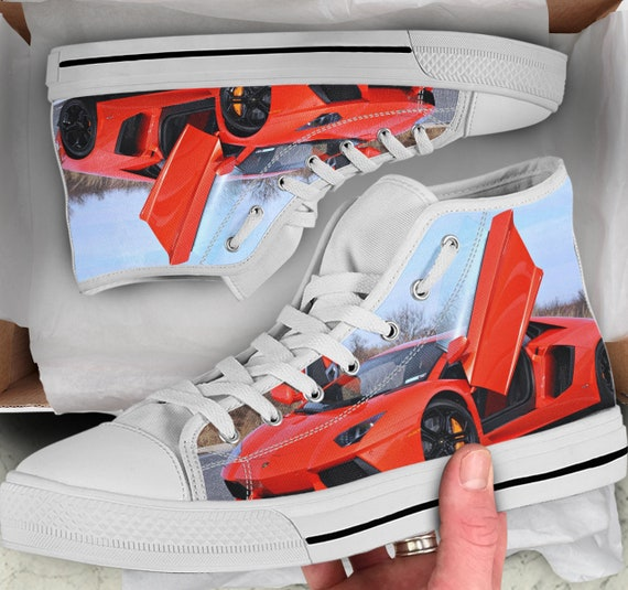 Lamborghini Men's Women's Colorful Shoes Shoes sneakers Lamborghini High Looks high Converse Tops Tops Sneakers Shoes Lamborghini like U1FqrvUw