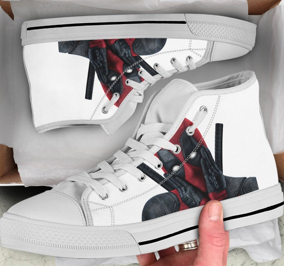 Colorful like Tops Tops high Shoes Men's Sneakers Deadpool Gift Looks Women's Deadpool High Shoes Shoes Converse Deadpool for sneakers wqYnZX