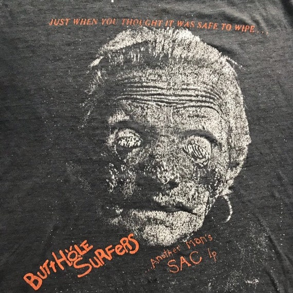 Vintage 80's Butthole Surfers Another Man's Sac sh