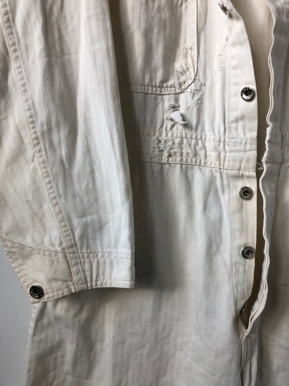 1960s Union Made White Coveralls