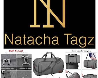 Waterproof Duffle Bag Weekend Bag Short Stay Duffle Bag