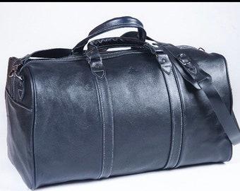 Leather weekender bag Leather overnight bag Leather travel bag Classic duffel bag Leather sport bag Leather brown bag Duffle bag Gym bag
