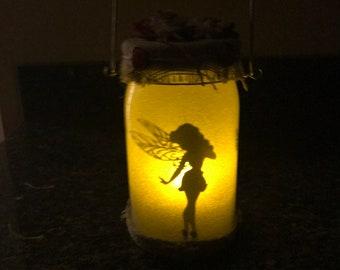 Fairy Mason Jar Lantern