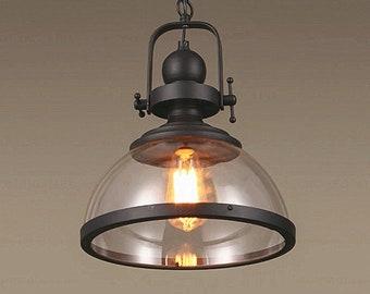 Vintage, Industrial Pendant Lights, Metal Pendant Light, Iron Pendant Lights, Farmhouse, Industrial Light, Country