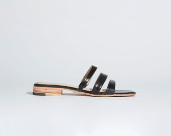 Lagos Sandal in Black