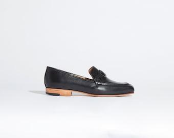 The Pilar Loafer in Black