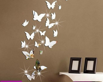 Butterfly Wall Decal Etsy