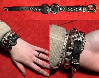 Concho bracelet   Etsy