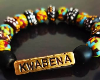 Durable Ghanaian multi colored beads for all occasions.