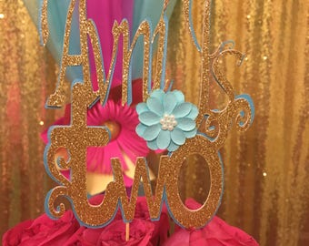 Personalized cake topper (Custom handcrafted)