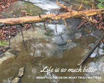Life is so Much Better Printable