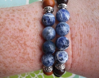 Healing Crystal bracelet-Sodalite