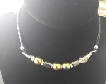 Magnetic Choker with Earrings
