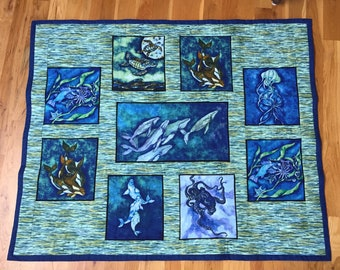 Quilted Sea Life #315