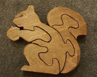 Squirrel Wood Puzzle