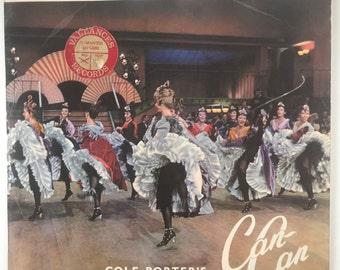 Cole Porter's Can Can VINYL RECORD ALBUM