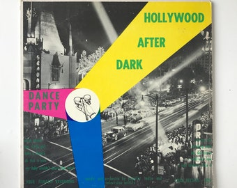 Hollywood After Dark - Dance Party - VINYL RECORD ALBUM