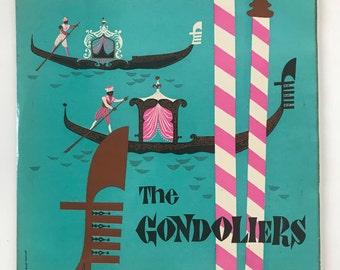 The Gondoliers - VINYL RECORD Album
