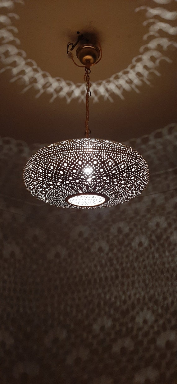 Moroccan Ceiling Pendant Moroccan Pendant Light Ceiling Etsy